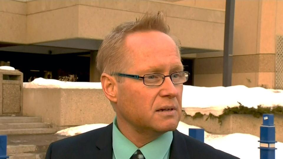 Spokesman with Edmonton Police Service Scott Pattison addresses the media on Friday, Jan. 4, 2013.