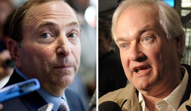 NHL, lockout, deal, Fehr, Bettman