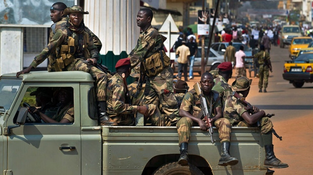 South Africa sends troops to C.A.R.