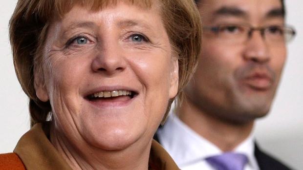German vice chancellor urges junior party unity