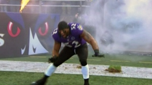 CTV News Channel: NFL star takes field in style