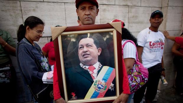 Hugo Chavez supporter