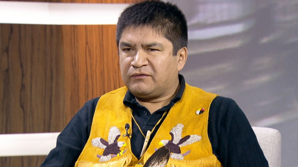 Attawapiskat First Nations spokesman Danny Metatawabin speaks on CTV's Question Period on Sunday, Jan. 6, 2013.