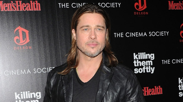 Brad Pitt makes mysterious tweet on Sina Weibo