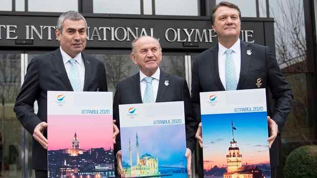 Istanbul Madrid Tokyo 2020 Olympics bids