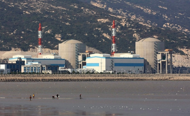Tianwan Nuclear Power Plant in Lianyungang, China.