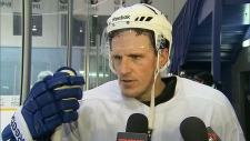 Maple Leafs captain reacts to deal
