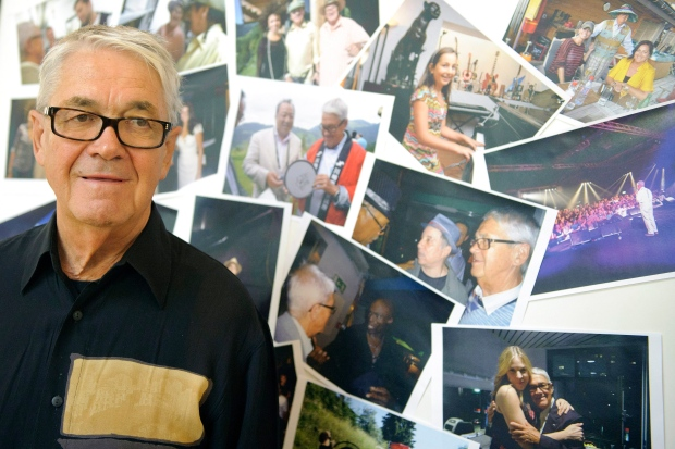 Claude Nobs on July 15, 2011.