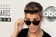 Justin Bieber on Nov. 18, 2012.