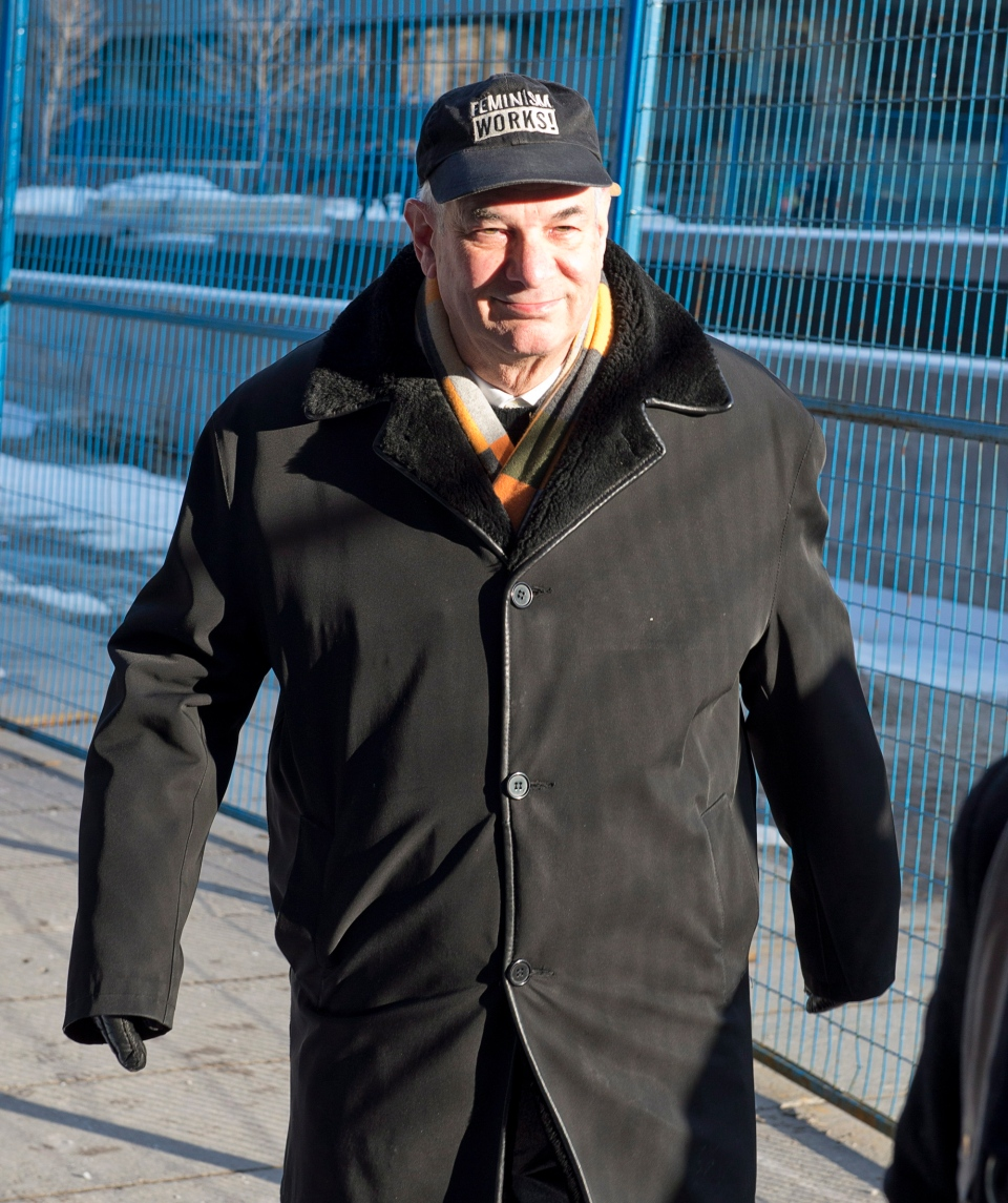Lawyer Clayton Ruby arrives to court in Toronto on Monday, Jan. 7, 2013. (Frank Gunn / THE CANADIAN PRESS)