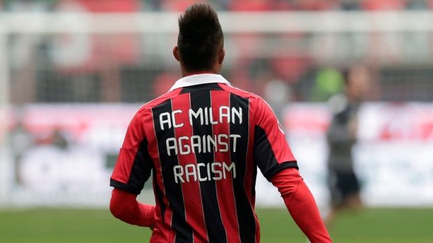 Kevin Prince Boateng protests racism in FIFA