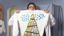 Entrepreneur Kyle Reagan is cashing in on Christmas kitsch. Dec. 12, 2010. (CTV)