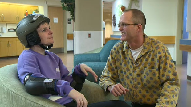 Bill Hobbins' wife Sue Richards is the youngest-known person in Edmonton to have early onset Alzheimer's disease. She was diagnosed at the age of 40.