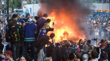 Beauty queen charged in Stanley Cup riots