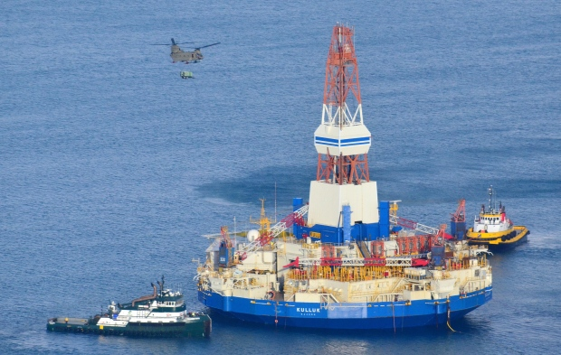 Shell oil-drilling