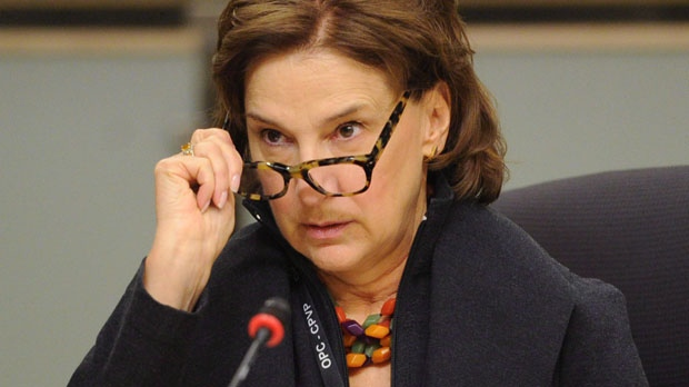 Privacy commissioner Jennifer Stoddart appears in Ottawa on March 1, 2012. (The Canadian Press/Sean Kilpatrick)