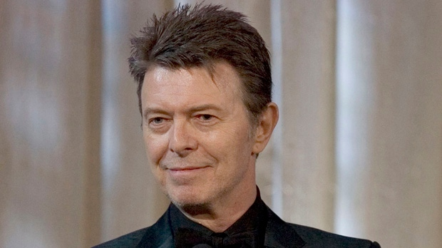 David Bowie attends an awards show in this June 5, 2007, file photo taken in New York. (AP Photo/Stephen Chernin)