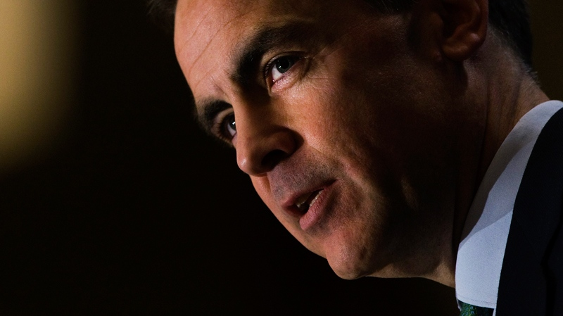 Bank of Canada Governor Mark Carney speaks at the Economic Club of Canada lunch in Toronto on Monday, Dec. 13, 2010. (Nathan Denette / THE CANADIAN PRESS)