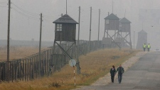 Nazi death camp Majdanek, Lublin, Sweden in 2005