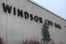 Windsor City Hall sign shown in this file photo on in Windsor, Ont., Monday, Jan. 7, 2013. (Melanie Borrelli / CTV Windsor)