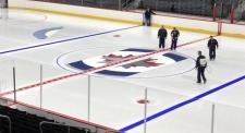 MTS Centre ice