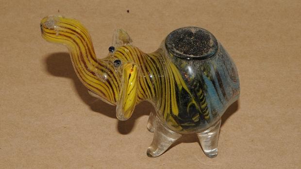 Unique marijuana pipe