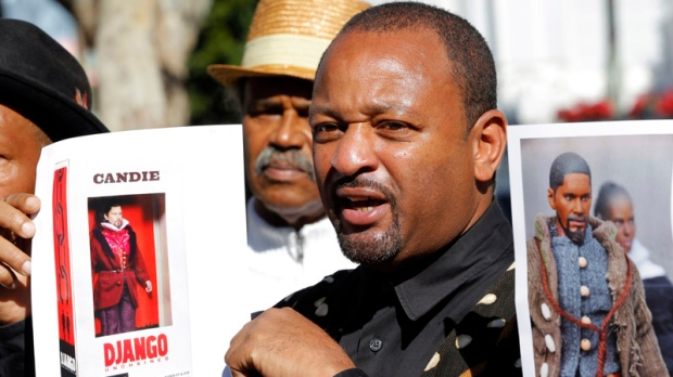 'Django Unchained' action figures draw protest