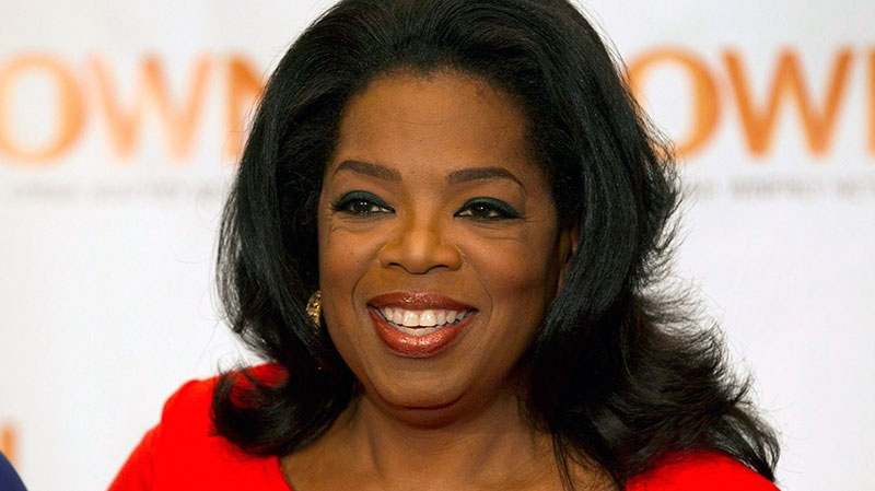 Oprah Winfrey appears in Toronto, April 16, 2012. (Frank Gunn / THE CANADIAN PRESS)