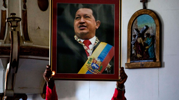 Chavez too sick to attend swearing-in