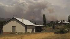 Milder temperatures Australia wildfires