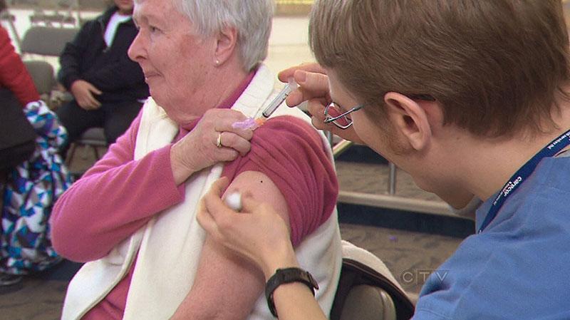 Flu shot clinic Tamiflu