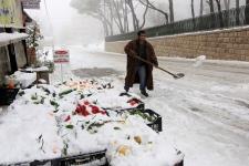 Snowstorm hits mideast Lebanon snow