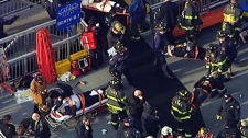 Ferry crashes in New York