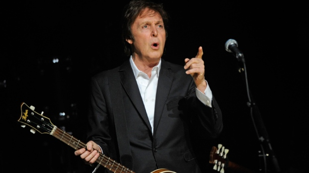 Paul McCartney Performs In Concert For The First Time At Harlems Famed Apollo Theater Monday