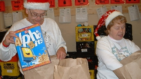 The SHARE Food Bank urgently needs donations to keep up with an increase of families in need this holiday season. Dec. 14, 2010. (SHARE)