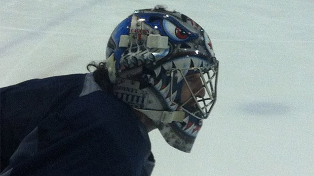 Winnipeg Jets' backup goalie Al Montoya