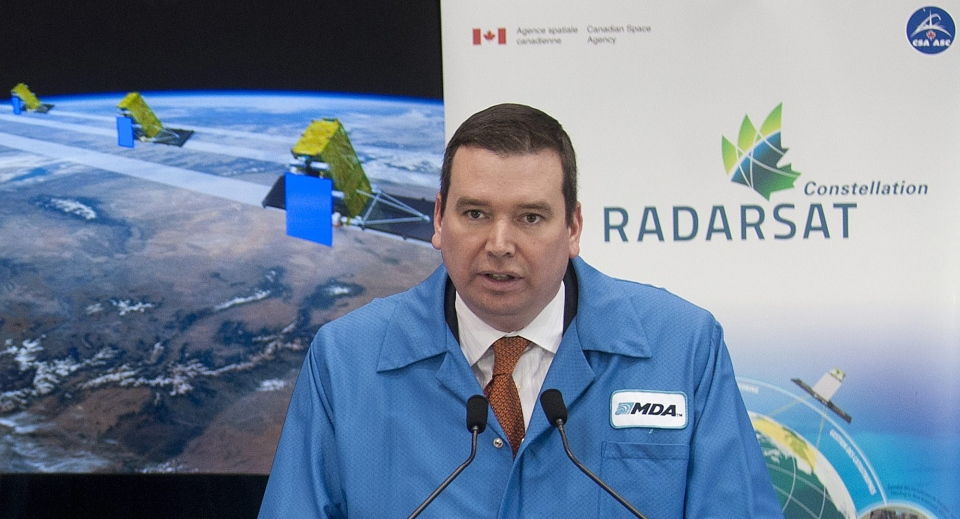 Mda Signs 706m Radarsat Constellation Deal Ctv News
