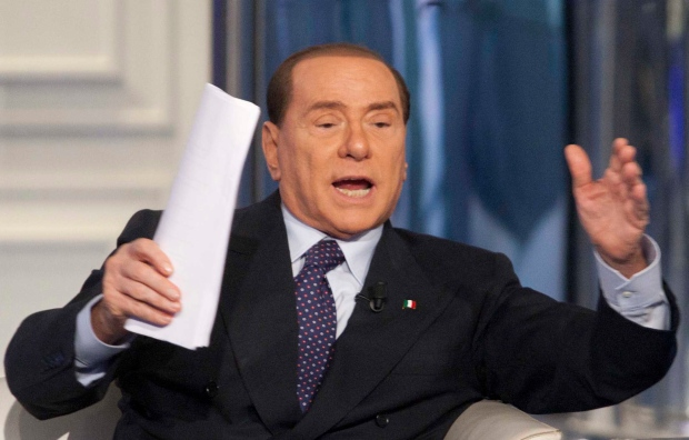 Berlusconi blames 'feminist, communist' judges