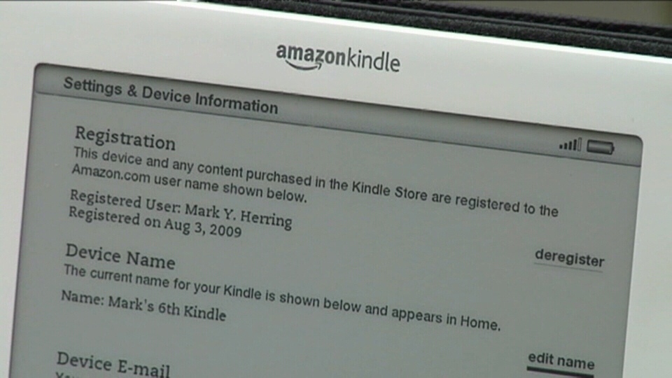 eBook titles differ in price on U.S. & Canadian websites. Jan. 11, 2013.