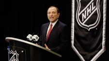 NHL commissioner says sorry to hockey fans