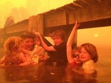 Wildfire danger across southern Australia
