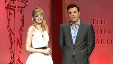 Oscar nominations Academy Awards Seth MacFarlane