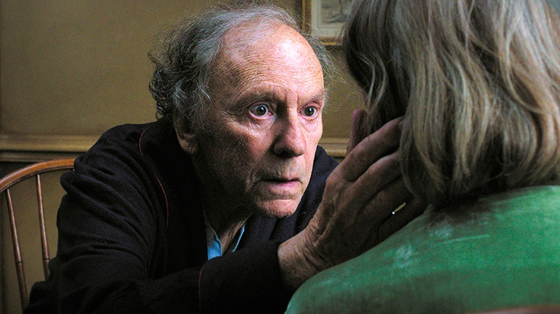 Jean-Louis Trintignant in a scene from Mongrel Media's 'Amour'
