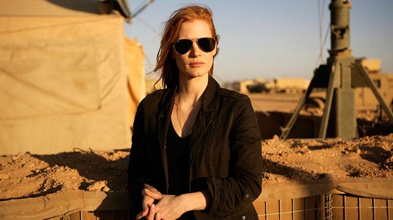 Jessica Chastain in Alliance Films' 'Zero Dark Thirty'
