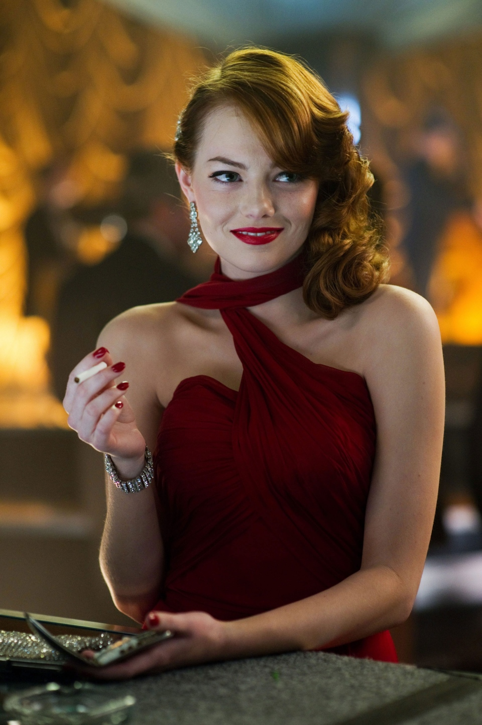 Emma Stone, as Grace Faraday in Warner Bros. Pictures Canada's 'Gangster Squad'