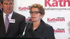 Kathleen Wynne welcomes Glen Murray