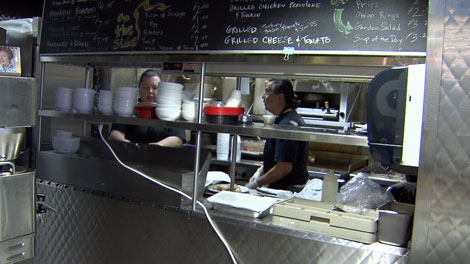 Some of those who live in Vancouver's impoverished Downtown Eastside are finding new opportunities for work in the neighbourhood. Dec. 15, 2010. (CTV)