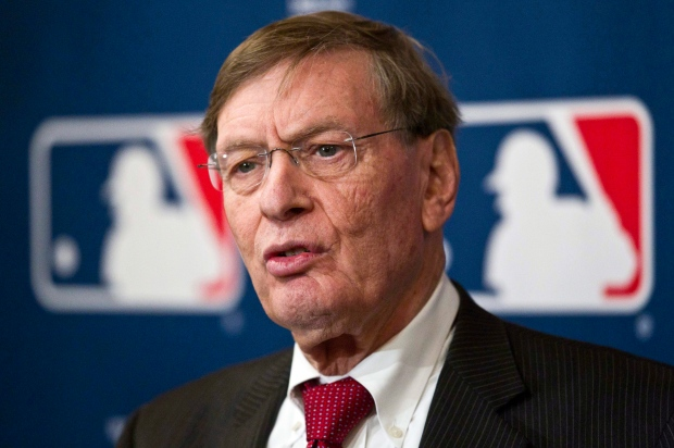 MLB commissioner Bud Selig speaks