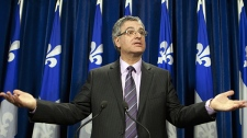 Quebec Justice Minister and Solicitor General Jean-Marc Fournier confirms the Quebec government will appeal a lower-court ruling that paves the way for common-law spouses to obtain alimony when they split from their partners Wednesday, December 15, 2010. (Jacques Boissinot / THE CANADIAN PRESS)