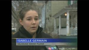 CTV Atlantic: Dalhousie hockey team breaks